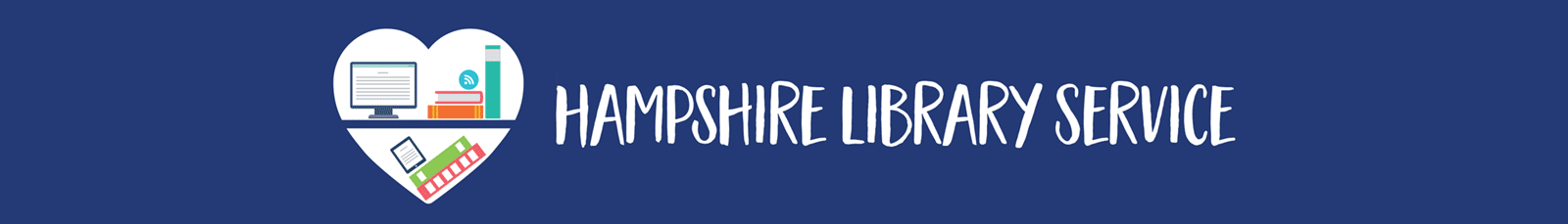 Hampshire Library Service header