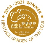 Heritage Garden of the Year 2014-17 Gold Winner - South & South East in Bloom (Part of RHS Britain in Bloom)
