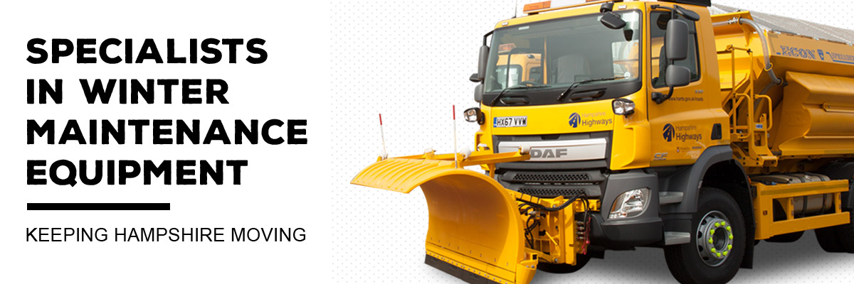 Specialists in winter maintenance equipment - Keeping Hampshire moving